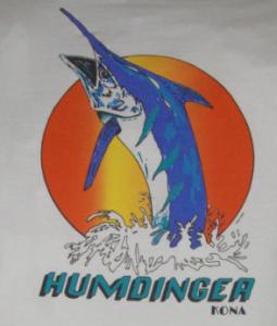 Original Humdinger Design 255x300 The Original Humdinger Sportfishing T shirt Design