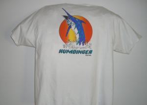 Original Humdinger Tshirt Back1 300x214 The Original Humdinger Sportfishing T shirt Design