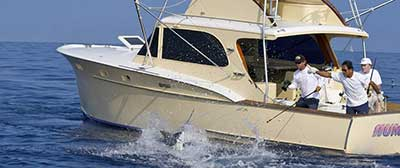 fishing charter boat rent