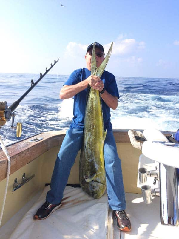 Mahi Mahi Fishing Kona Hawaii