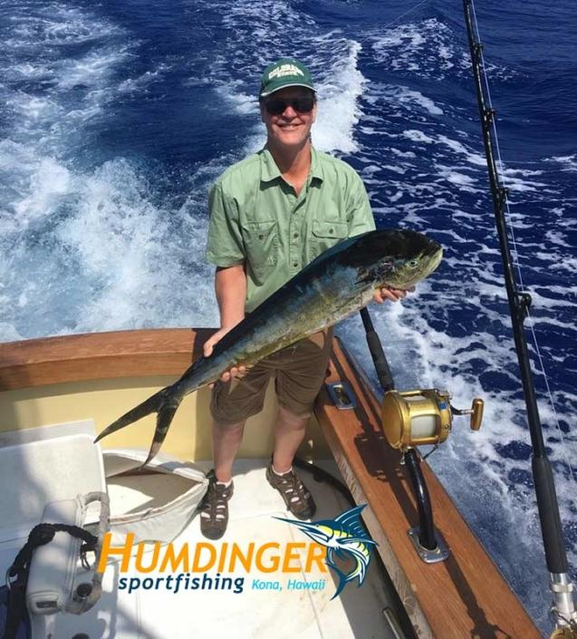 Deep Sea fishing picture in Kona Hawaii, March 2017