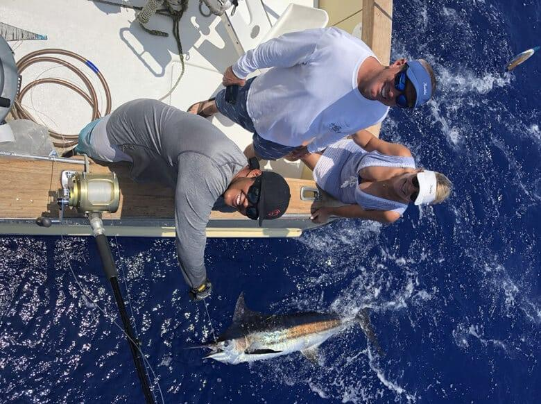 Kona fishing report - Blue Marlin, Shortbilled Spearfish and Ono