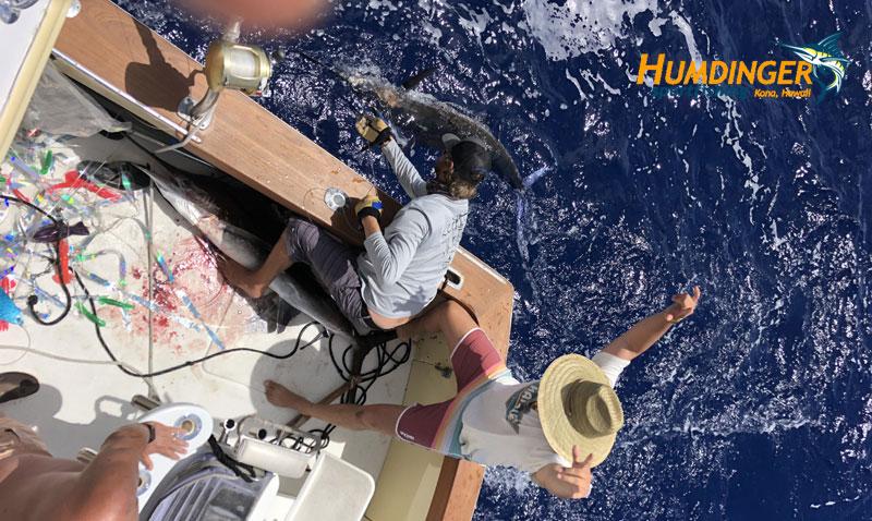 fishing report - September Kona